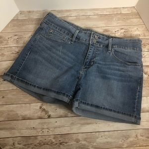 Denizen from Levi's Jean shorts with cuff